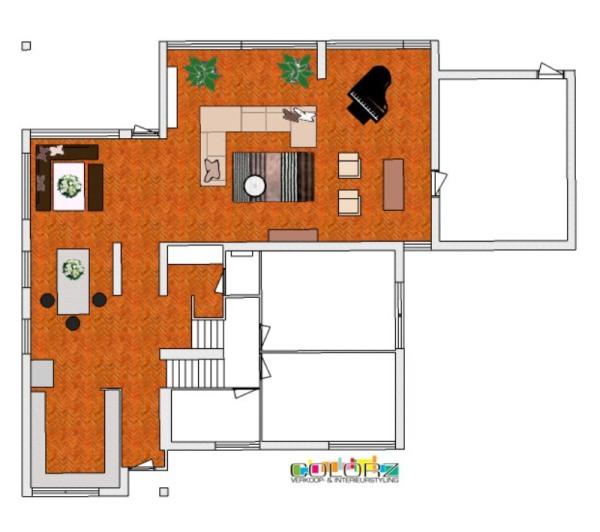 Moderne vrijstaande woning for Woning indeling
